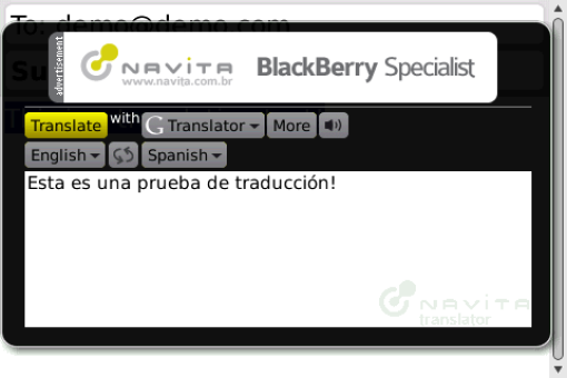 Navita Translator